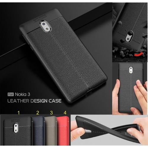 Custodia cover case per Nokia 1 2 3 5 6 7 8 9 X5 X6 silicone fibra di carbonio