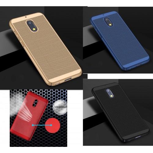 Custodia cover case per Nokia 1 2 3 5 6 7 8 9 plastica preformata traspirante