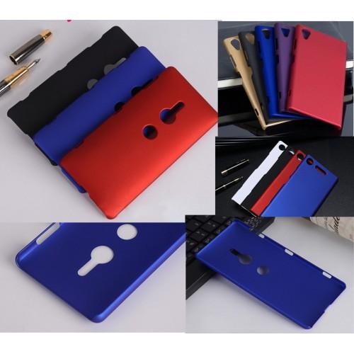 Custodia cover plastica compatta antiurto per sony Xperia XA XA1 XA2 Ultra Plus