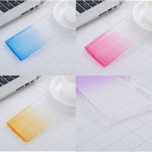 Custodia cover silicon sfumato antiscivolo antiurto per sony Xperia Xz1-Compact