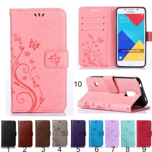 Custodia flip Cover case pelle per Samsung Galaxy S7 S6 Edge S5 S4 A3 A5 J7 mini