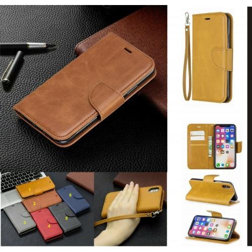 Custodia flip Cover magnetica cuoio per Samsung Galaxy A10 A20 A30 A40 A50 A70