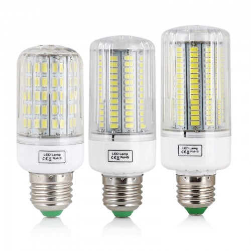 E27 5730 Lampadina a led Luce 220V fredda/calda 7 12 15 20 25 30 35 40 45 watt