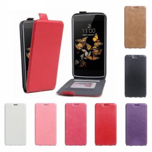 FLIP Cover custodia Case apertura verticale PELLE per Asus Zenfone 3 Max zc520tl