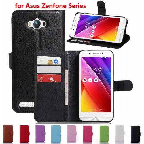 FLIP Cover custodia Case magnetica in PELLE per modelli Asus Zenfone & 3 2016