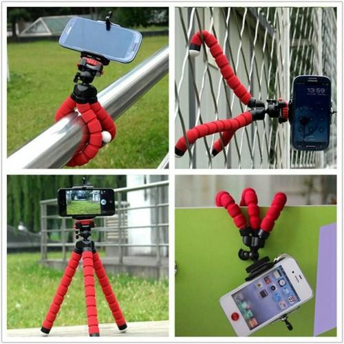 Flessibile Mini treppiede OCTOPUS con telecomando selfie bluetooth smartphone