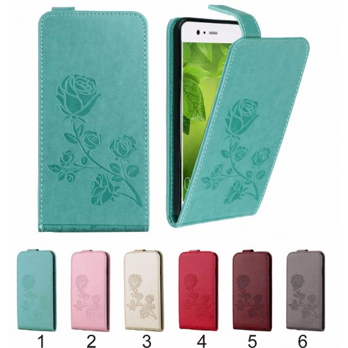 Flip COVER CUSTODIA Case pelle apertura a portafoglio per HUAWEI P10 & lite