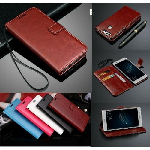 Flip COVER CUSTODIA  pelle magnetica per HUAWEI P20 P30 Mate20 lite & Pro smart