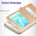 Flip COVER CUSTODIA per HUAWEI Honor 4C 5C 6X 7C 7A 8 8X 9 10 lite V9 V10 Play