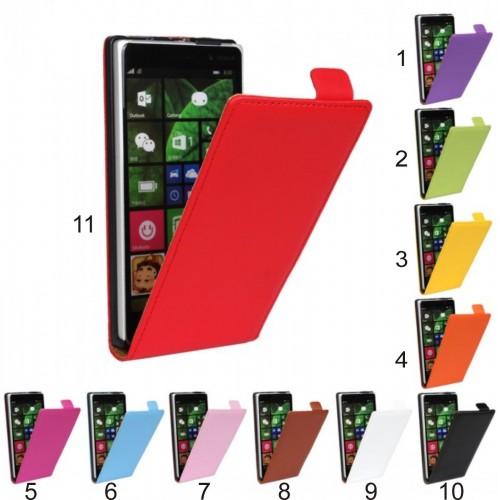 Flip COVER Custodia Case clip magnetico per nokia lumia 820 830 920 925 930 1020