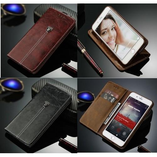 Flip COVER Custodia in pelle lusso slot cards per apple iphone 6 7 8 X XR XS Max