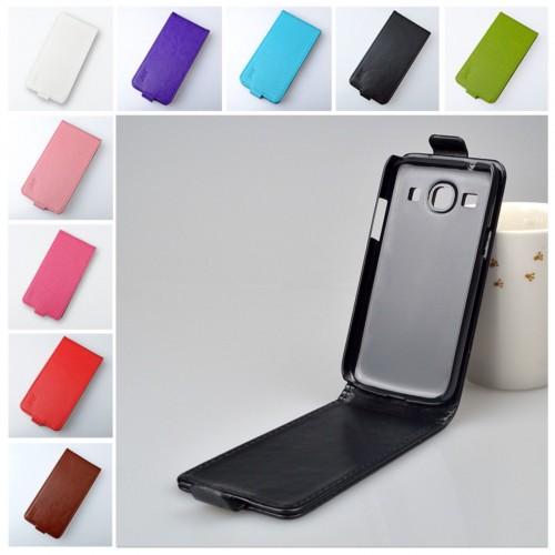 Flip Cover Custodia a portafoglio in cuoio per Samsung Galaxy Core Plus G350
