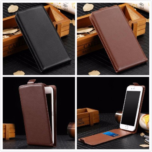 Flip Cover Custodia case in pelle con slot card per asus zenfone 4 Max ZC520KL