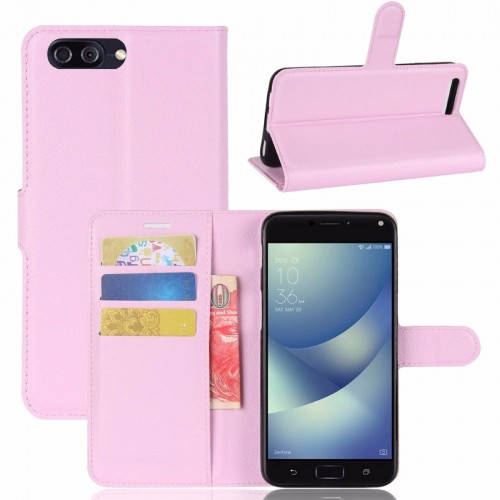 Flip Cover Custodia case in pelle con slot card per asus zenfone 4 Max ZC554KL