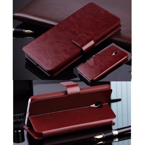 Flip Cover Custodia case pelle elegante fashion per asus zenfone 4 Max ZC554KL