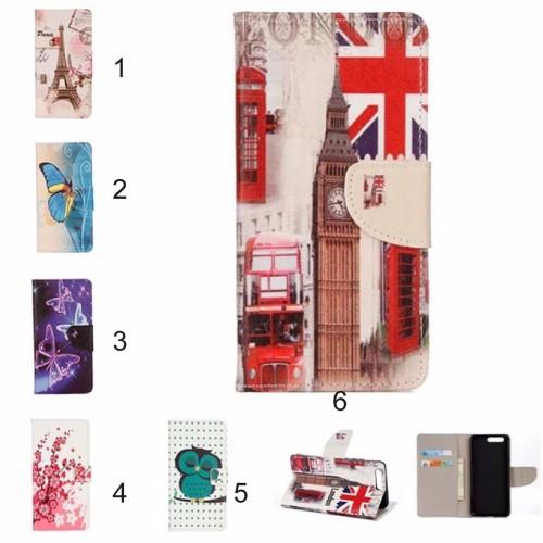 Flip Cover Custodia case strass farfalla glitter per asus zenfone 4 Max ZC554KL