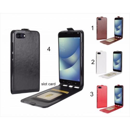 Flip Cover Custodia pelle portafoglio slot card per asus zenfone 4 Max ZC554KL