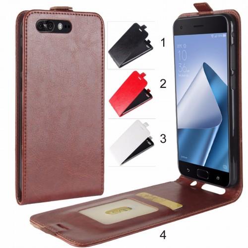 Flip Cover custodia Case in pelle a portafiglio per Asus Zenfone 4 Pro ZS551KL