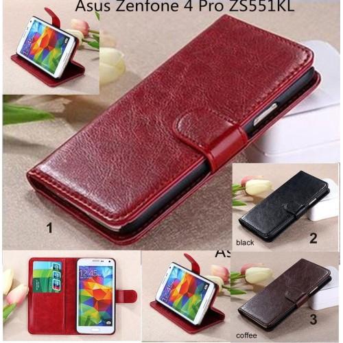 Flip Cover custodia Case pelle a libro FASHION per Asus Zenfone 4 Pro ZS551KL