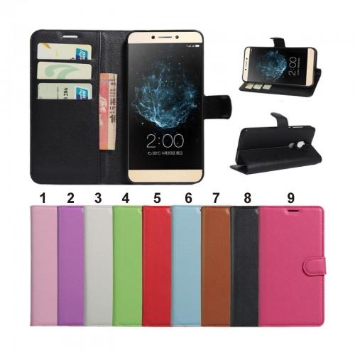 Flip Cover custodia Case pelle con slot card per Asus Zenfone 3 Laser ZC551KL