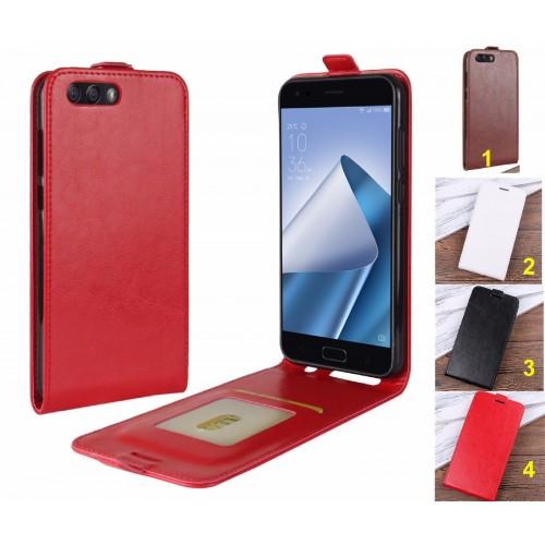 Flip Cover custodia Case pelle con tasca portacard per Asus Zenfone 4 ZE554KL