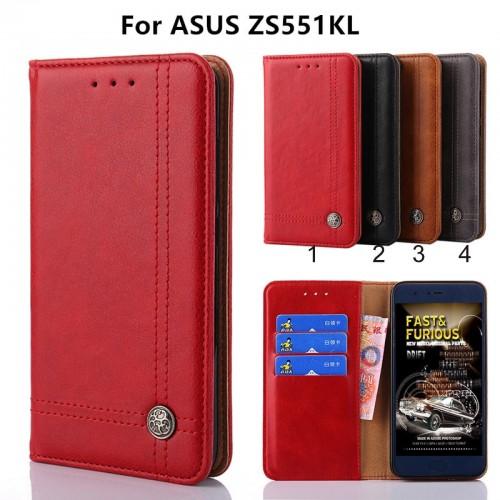 Flip Cover custodia Case pelle elegante FASHION per Asus Zenfone 4 Pro ZS551KL
