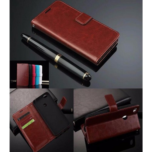 Flip Cover custodia Case pelle tasche con porta card per Asus Zenfone 4 ZE554KL