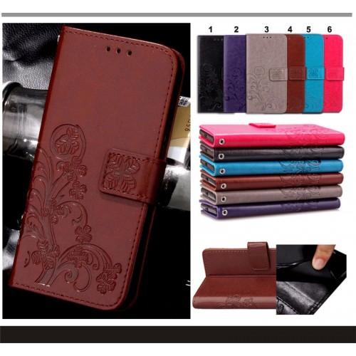 Flip Cover custodia case pelle con slot card per Asus Zenfone 3 ZE552KL ZE520KL