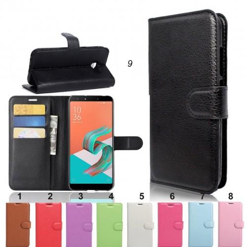 Flip Cover custodia in pelle magnetica per Asus Zenfone 5 5Z ZS620KL ZE620KL