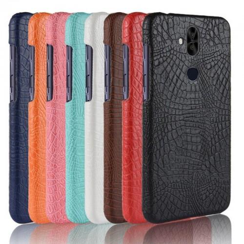 Flip Cover custodia pelle coccodrillo per Asus Zenfone 5 5Z lite Max Plus Pro M1
