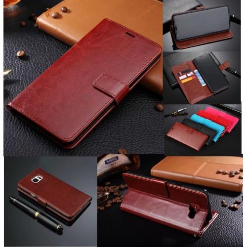 Flip Custodia Cover pelle per Samsung Galaxy A3 A5 A6 A7 A8 J2 J3 J5 J7 Prime