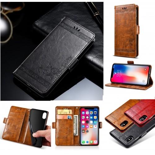 Flip Custodia cover case per Nokia 1 2 3 5 6 7 8 9 2018 pelle magnetica elegante