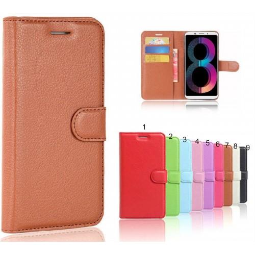 Flip Custodia cover case per Nokia 1 2 3 5 6 7 8 9 Plus in pelle clip magnetico
