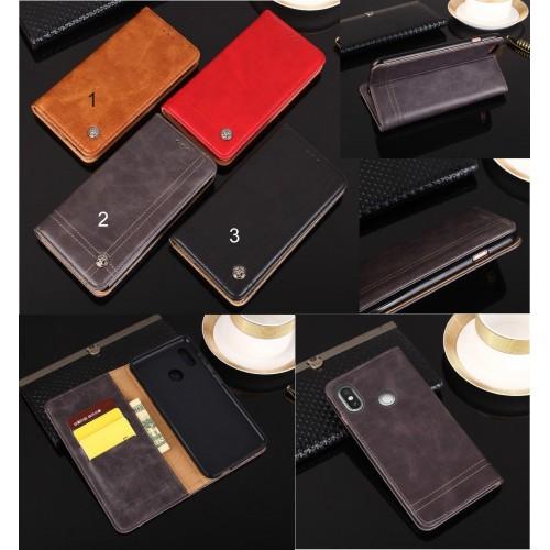 Flip Custodia cover case per Nokia 1 2 3 5 6 7 8 9 X5 X6 pelle magnetica Fashion