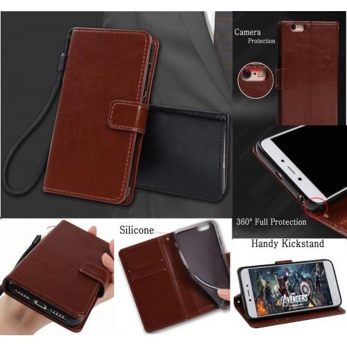 Flip cover Custodia pelle magnetica sony Xperia Z1 Z2 Z3 Z5 Xz2 Compact Premium