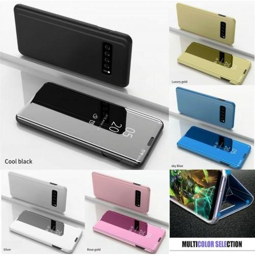 Flip cover Custodia specchio intelligente per Samsung S6 S7 S8 S9 S10 S10E Plus