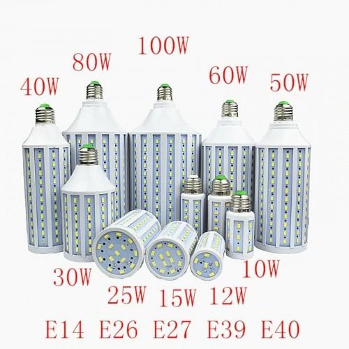 LAMPADA LAMPADINA LED E27 E14 E40 B22 220V 15W 25W 30W 40W 50W 60W 80W 100W 150W