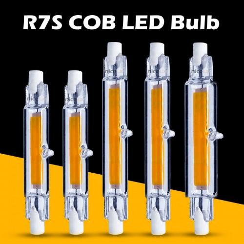 LAMPADA LAMPADINA LED R7S LUCE 360° 78/118 mm 220-230V 4.5W 5W 8.5W 9W 13W tubo