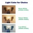LAMPADA LAMPADINA LED R7S LUCE 360° 78/118 mm 220-230V 5W 10W 15W 20W risparmio