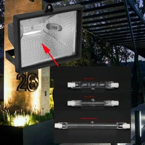 LAMPADA LAMPADINA LED R7S alogena LUCE 78/118mm AC220-240V 100W 150W 500W