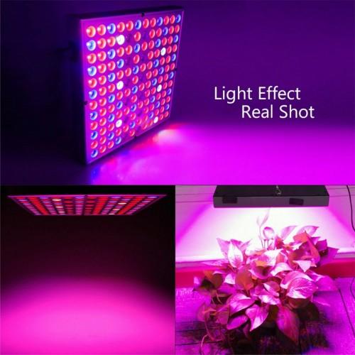 LAMPADA LED UV PER COLTIVAZIONE DI PIANTE IN INTERNO FULL SPECTRUM 45W 144led