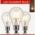 LAMPADINA LED luce a incandescenza E27 220V 2led 4led 6led 8led lampada luce