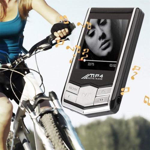 LETTORE MP3 MP4 PLAYER ALLUMINIO 1.8