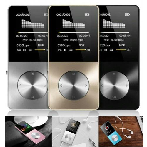 LETTORE PLAYER MP3 lega di alluminio altoparlante incorporato hifi video musica