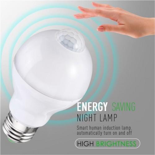 Lampadina infrarossi E27 1W 3W 5W 7W 9W 12W LED AC220V sensori sonori movimento