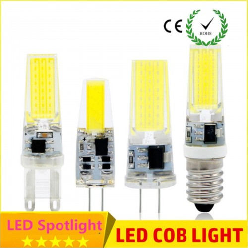 Lampadine lampade led super bright g4 g9 cob ac dc dimmer for Lampadine led g4