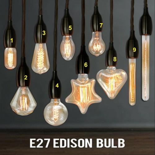 Lampadine Lampade in vetro a incandescenza E27 40W 220V per arredo casa locali