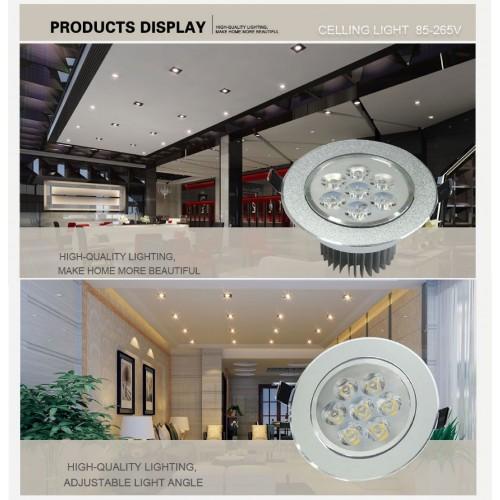 Lampadine lampade led incasso soffitto faretti ac85 265v for Lampadine led x faretti