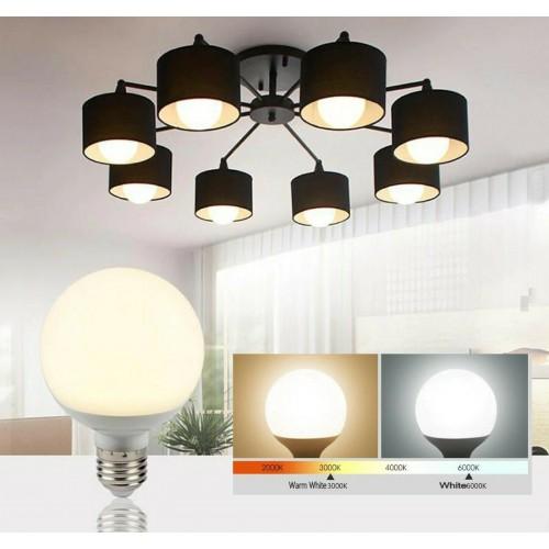Lampadine luce LED E27 5W 7W 9W 12W Lampada a forma di palla risparmio energtico