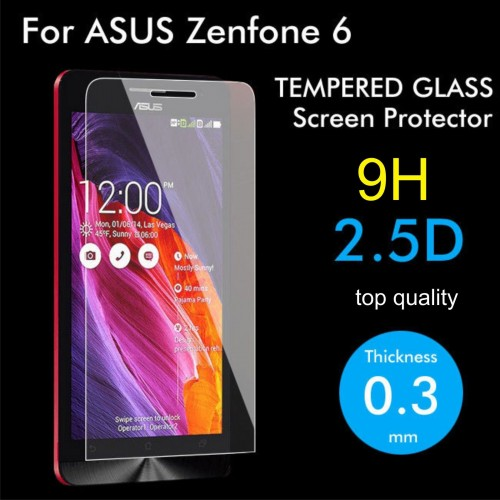 PELLICOLA PROTEGGI DISPLAY TEMPERED GLASS vetro temperato PER ASUS Zenfone 6 9H